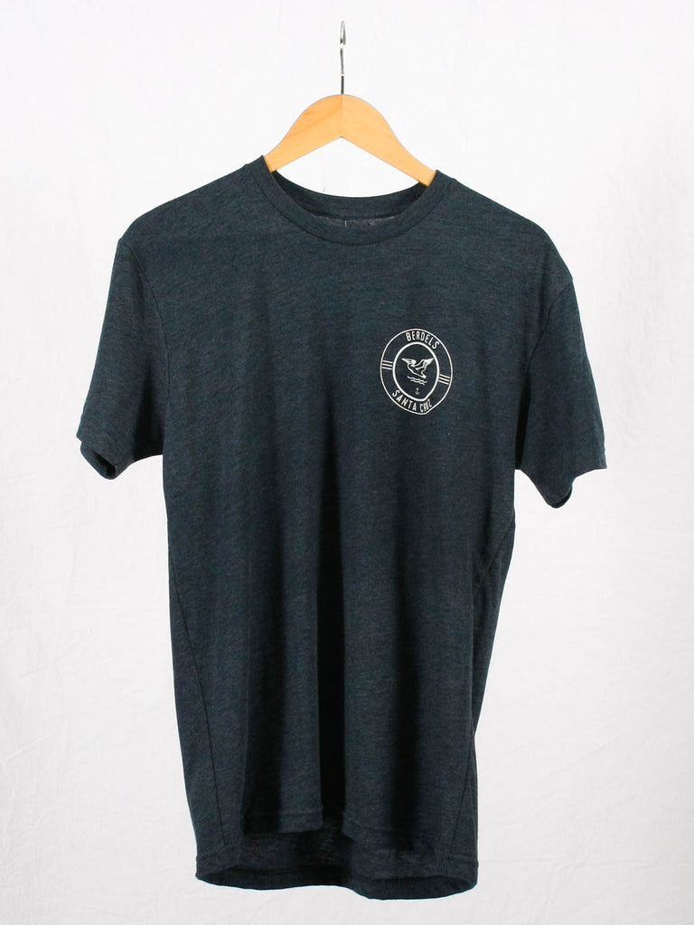 Surf Club Tee Heather Navy