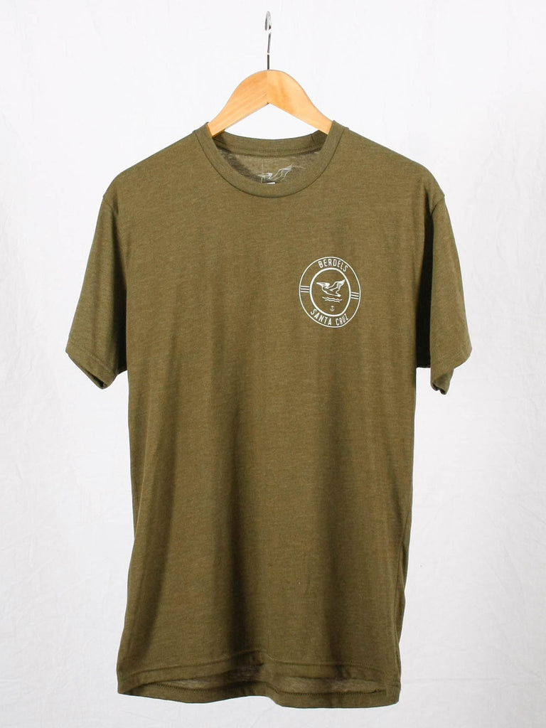 Surf Club Tee Heather Olive