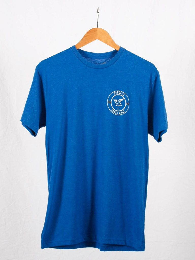 Berdels Surf Club Tee Heather Royal