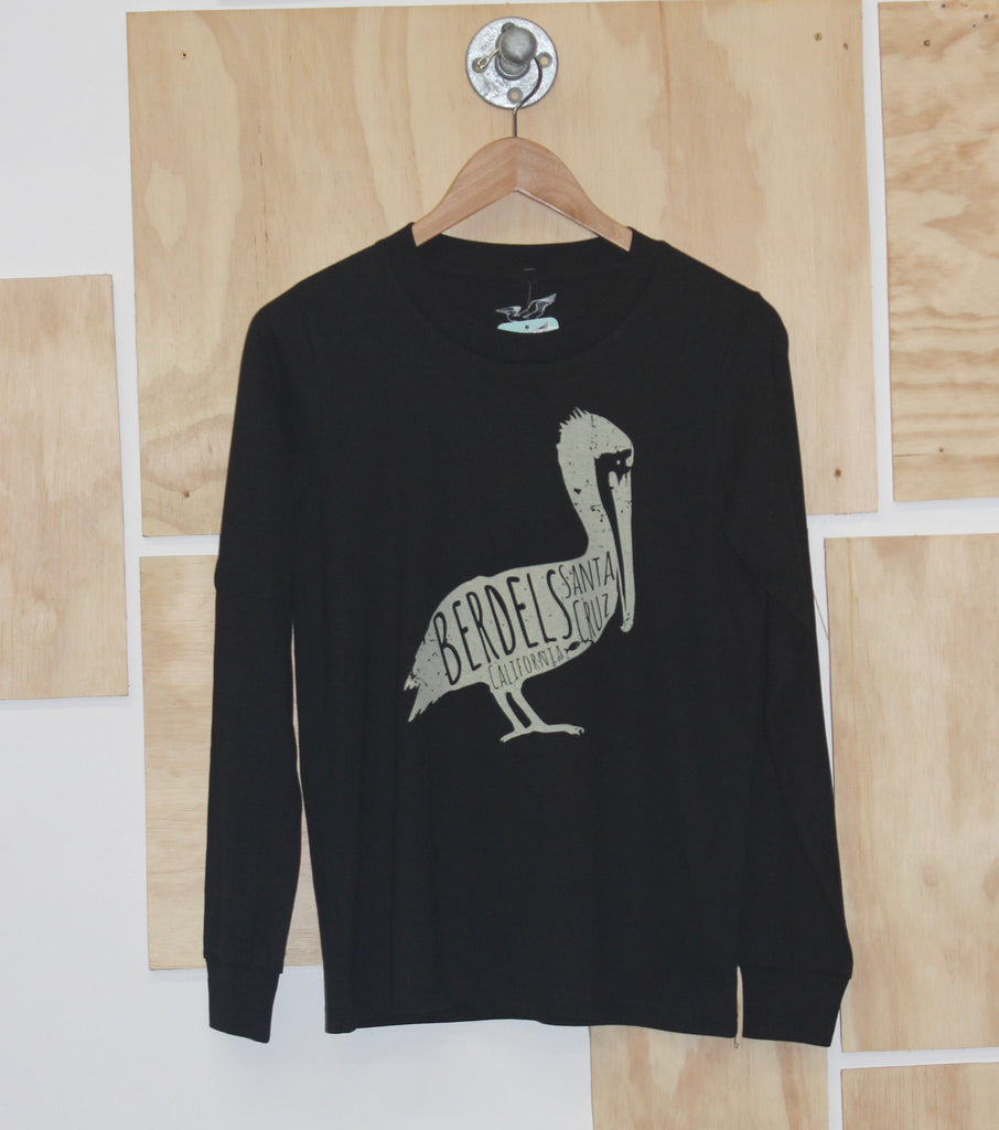 Big Belly Long Sleeve Tee Black
