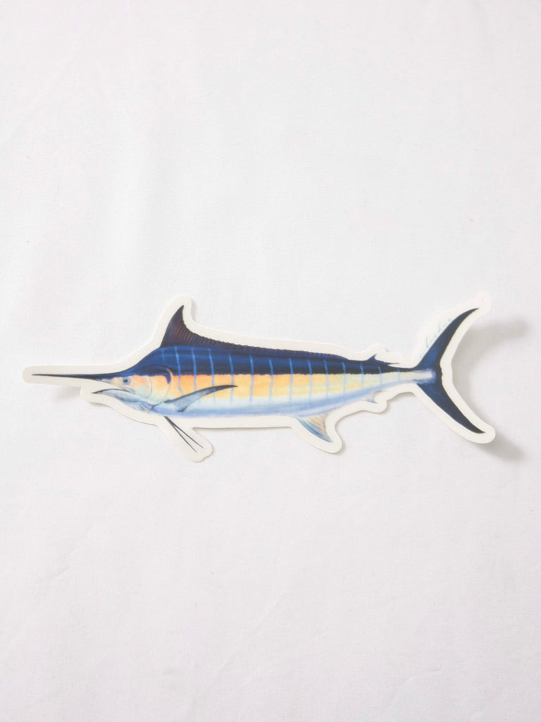 Abachar Blue Marlin Sticker