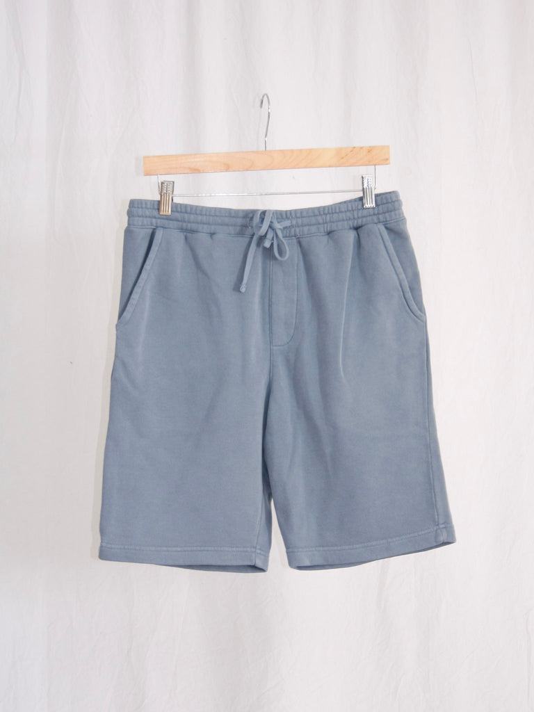 Berdels Big Belly Lounger Sweatshorts Slate Blue