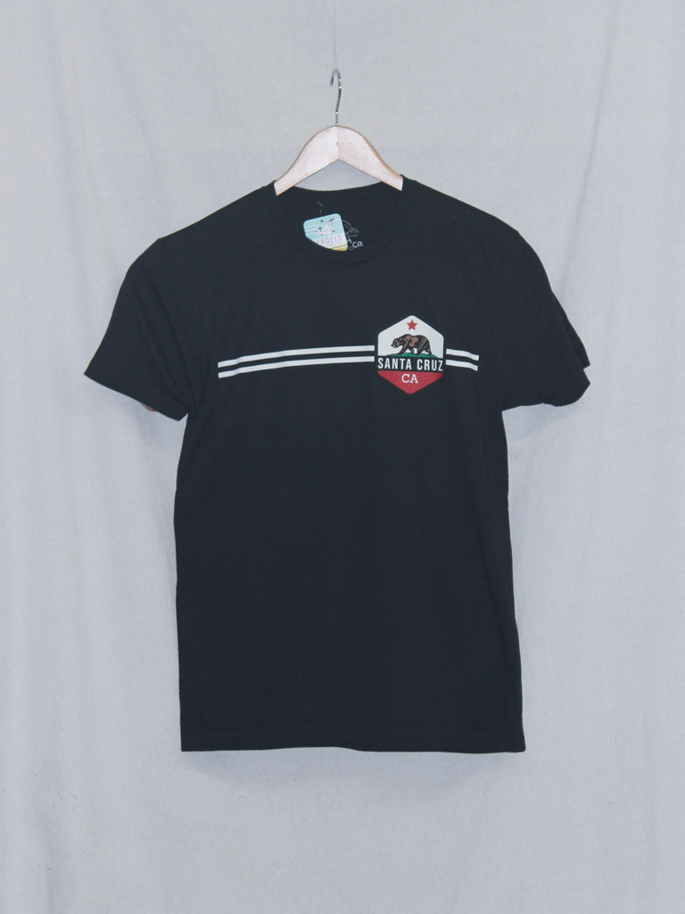CA Bear Tee Black