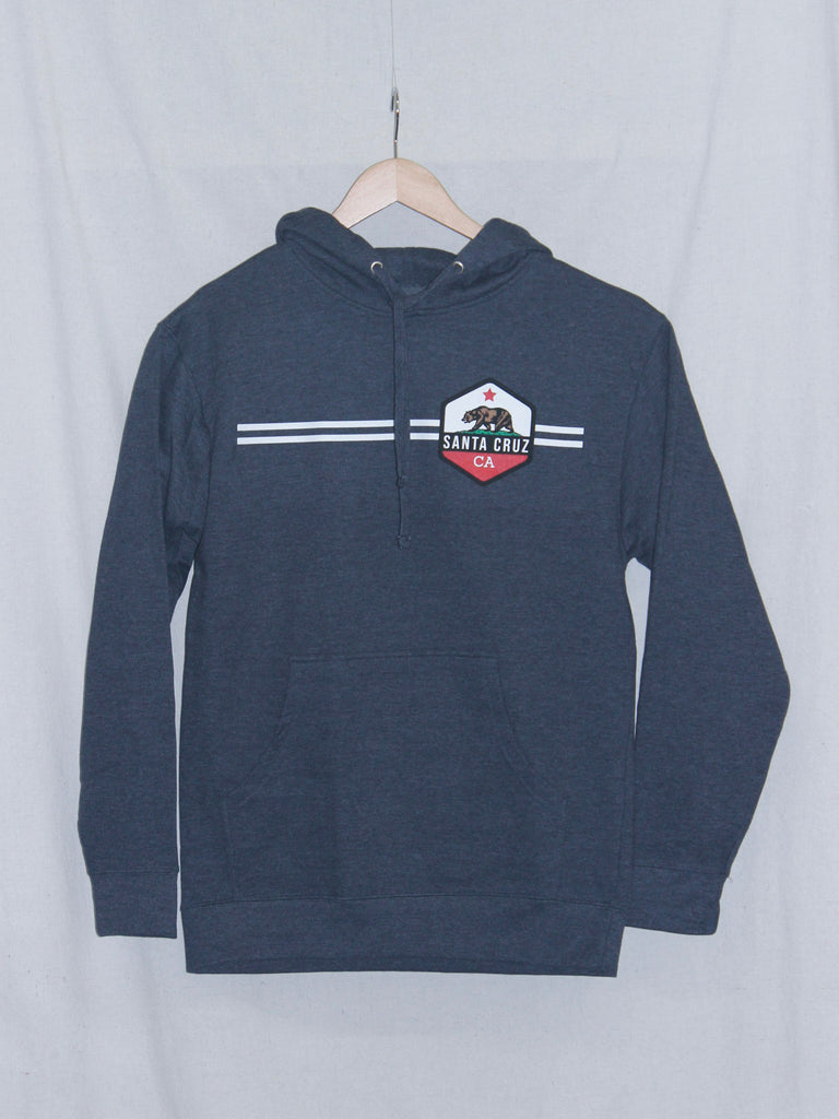 CA Bear Pullover Sweatshirt Heather Navy