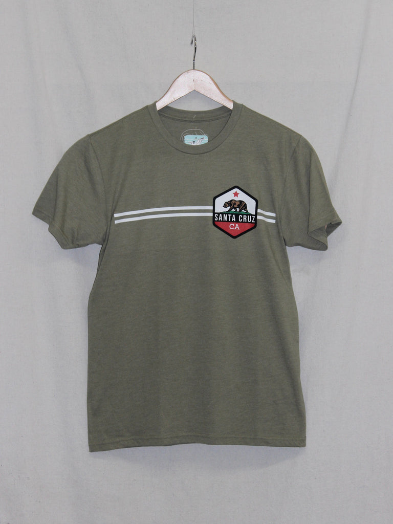 CA Bear Tee Light Olive