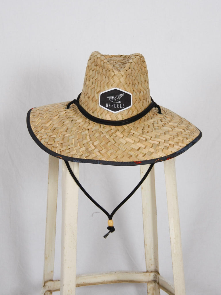 Berdels Cockadoodle Straw Lifeguard Hat