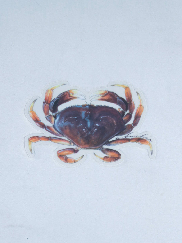 Abachar Dungenese Crab Sticker