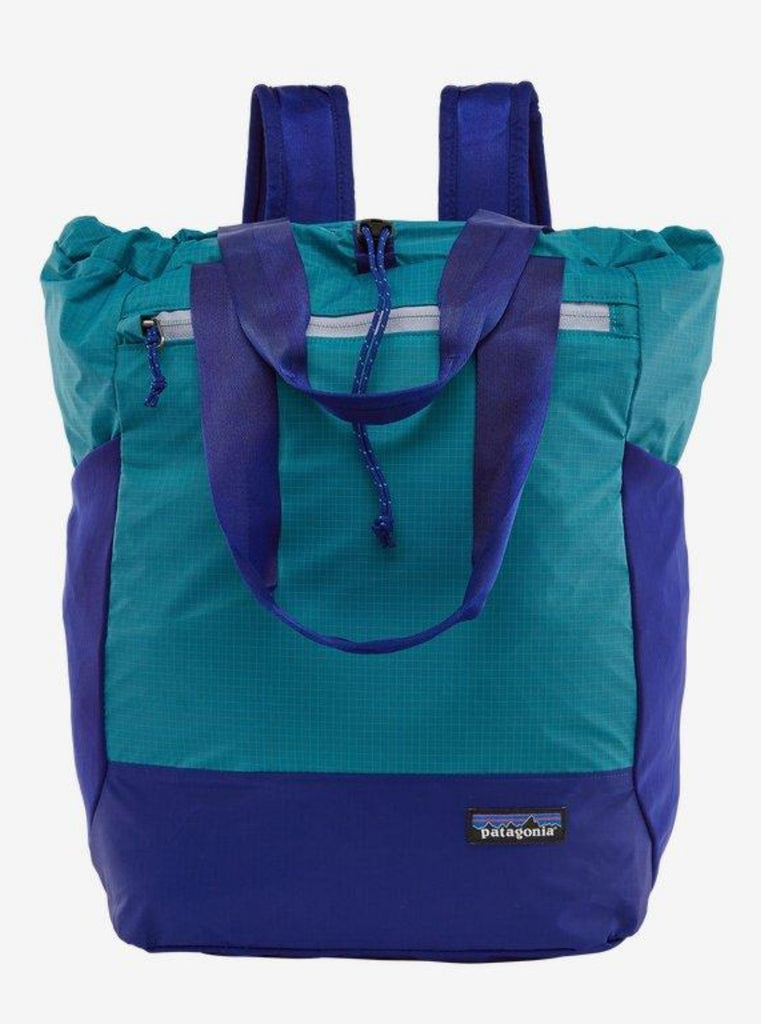 Patagonia Ultralight Black Hole Tote Pack 27L Curacao Blue