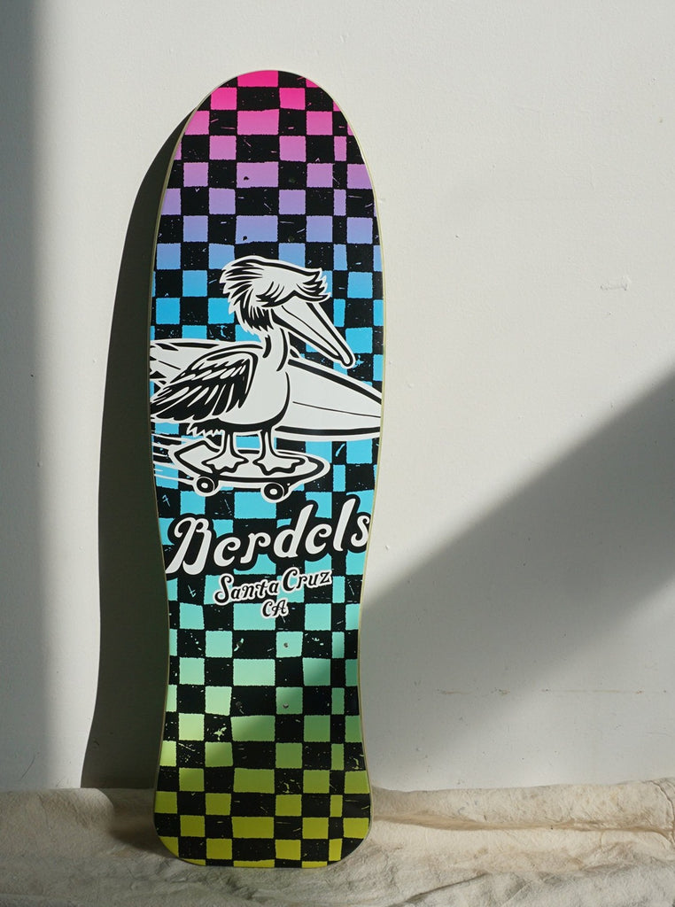 Berdels Cruiser Board Spicoli Checker Skateboard