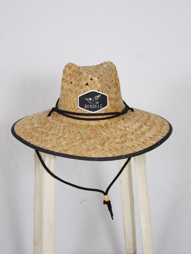 Berdels Flamingo Straw Lifeguard Hat