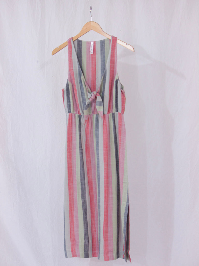 RVCA Flossie Striped Dress Multicolor
