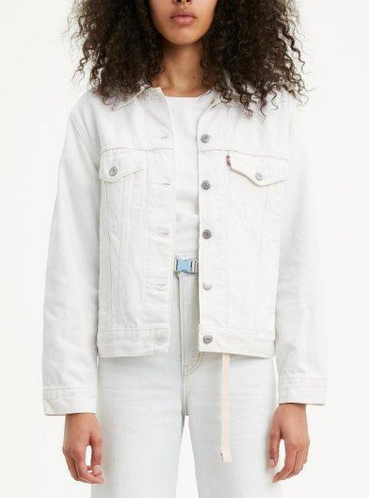Levi's Ex-Boyfriend Denim Trucker Frozen