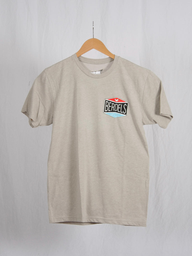 Berdels Gas Patch Tee in Silk Color