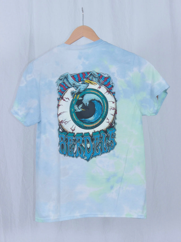 Berdels Men Eyeball Tee Green Tie Dye