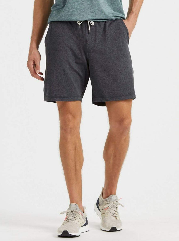 Vuori Ponto Shorts Heather Charcoal