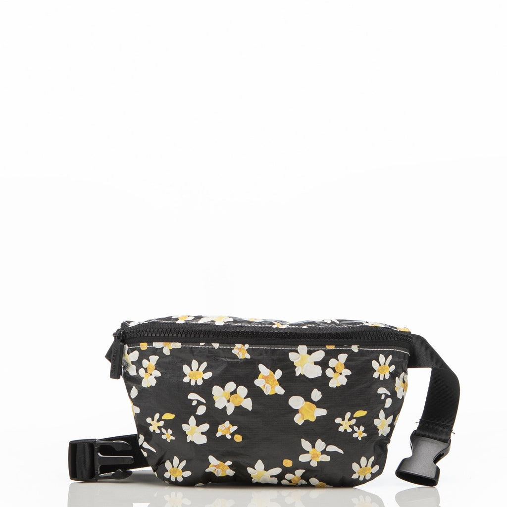 Aloha Collection x Salt Gypsy Hip Pouch Black Daisy