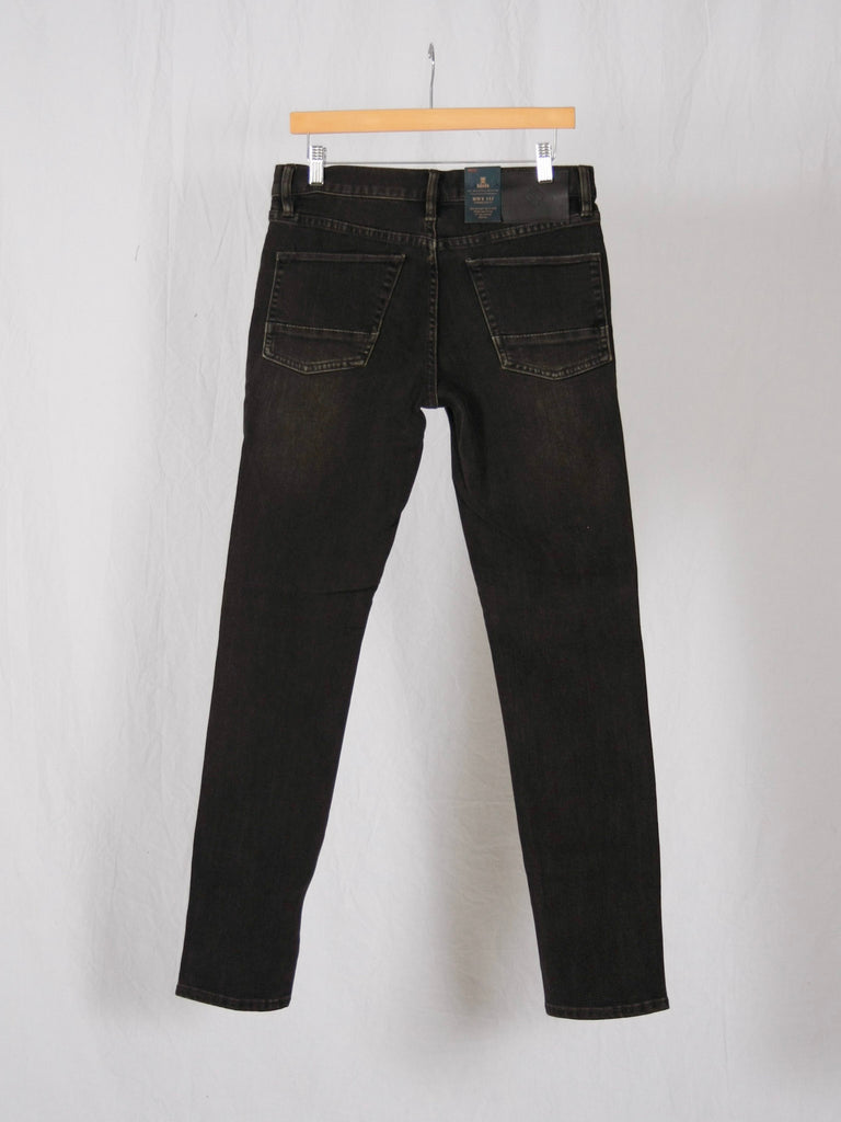 Roark Highway 133 Slim Fit Worn Black