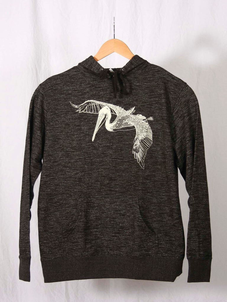 In Flight French Terry Pullover Sweatshirt Black