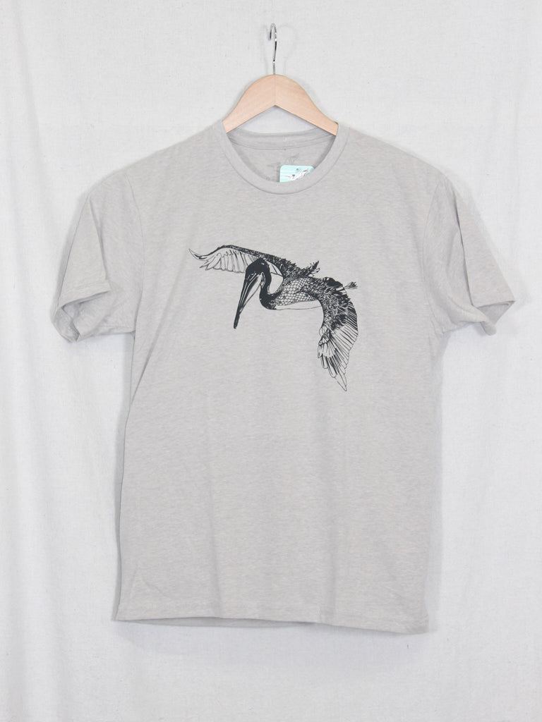 In Flight Pelican Tee Silk Color