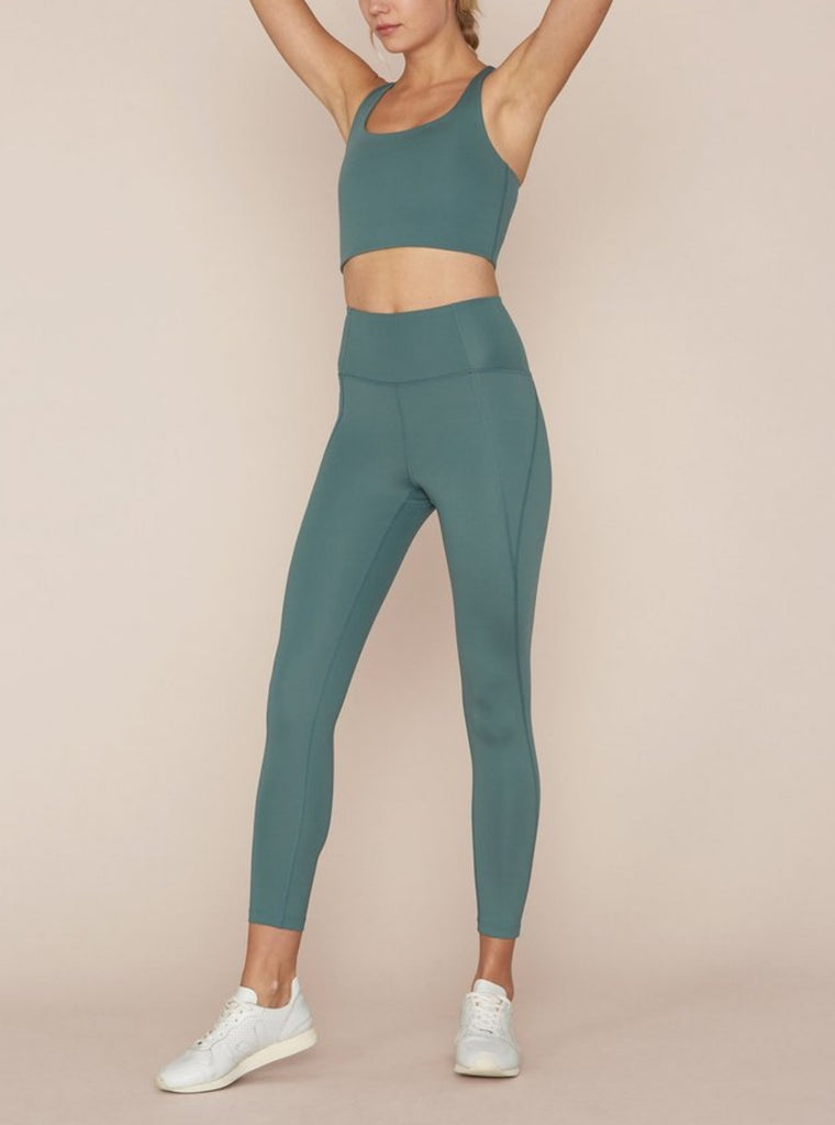 Girlfriend Collective High Rise Compression Leggings Jade