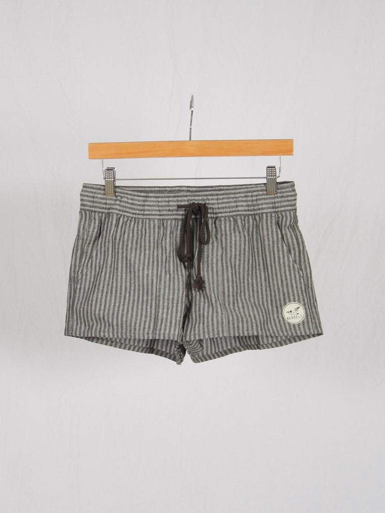 Berdels Lanai Shorts Grey Stripe