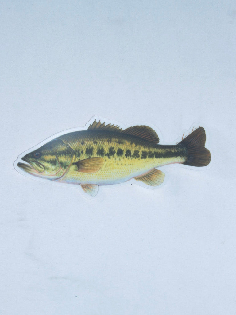 Abachar King Large Mouth Bass Sticker