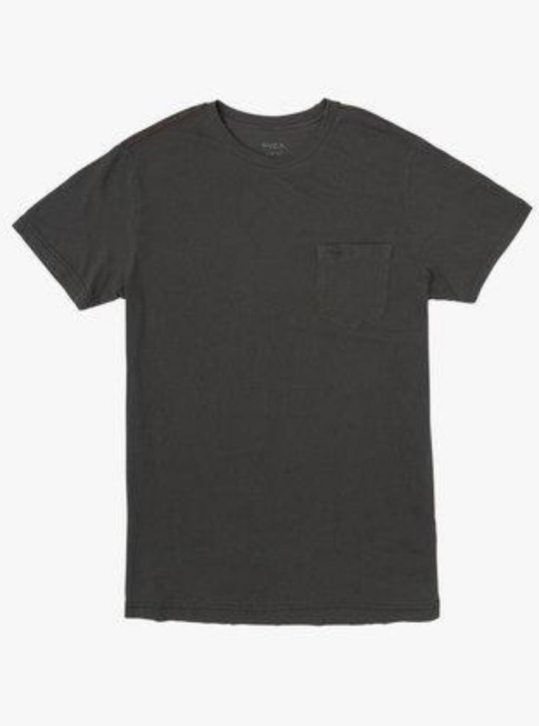 RVCA PTC II Pigment Short Sleeve Shirt Pirate Black