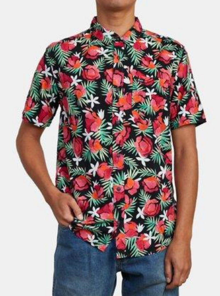 RVCA Rozich Short Sleeve Shirt Floral