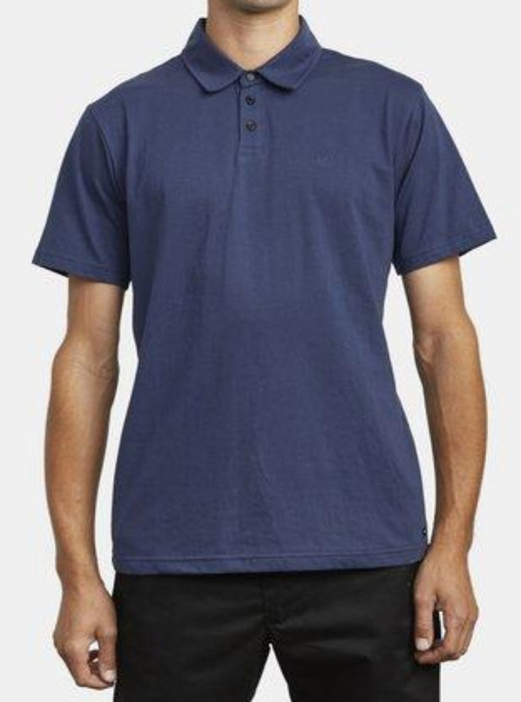 RVCA Sure Thing III Short Sleeve Polo Shirt