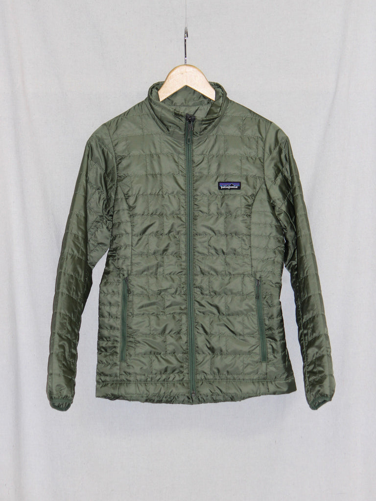 Patagonia Nano Puff Zip Jacket Camp Green