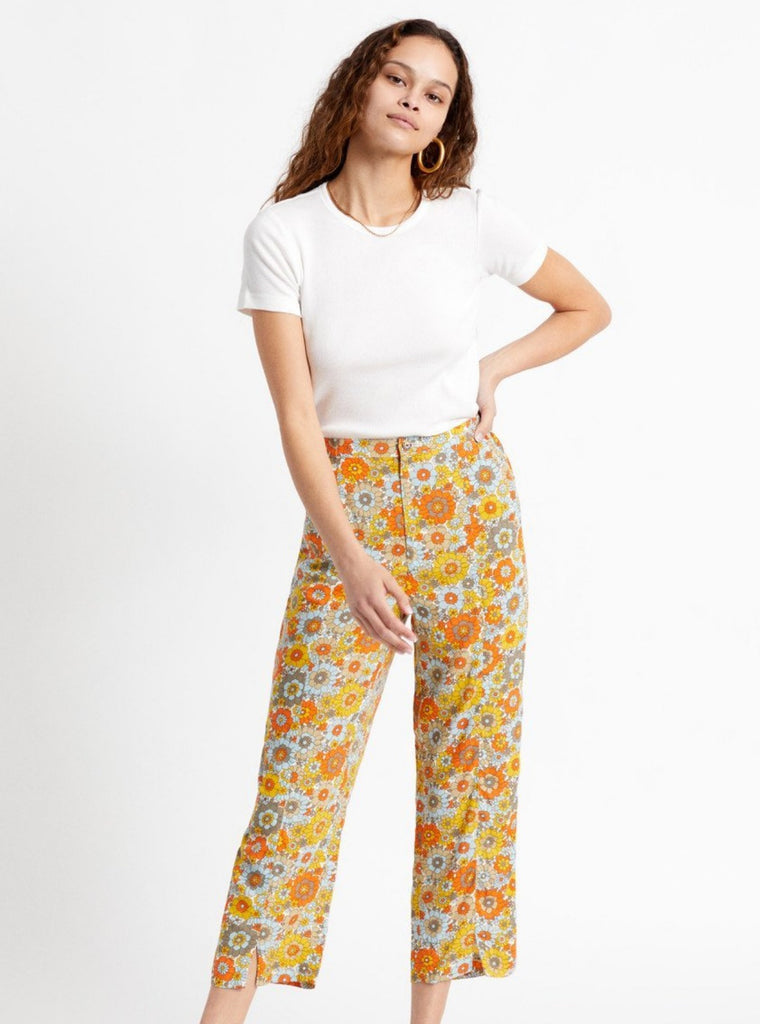 Brixton Night Fever Pant Mod Flower