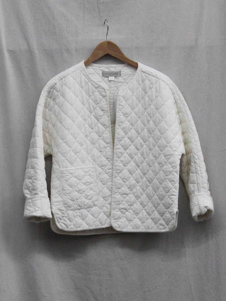 Outerknown Honeycomb Quilted Jacket Salt
