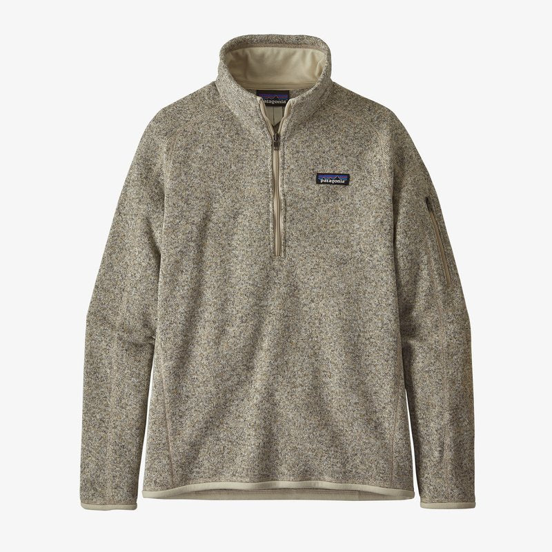 Patagonia Women's Better Sweater 1/4 Zip Pelican