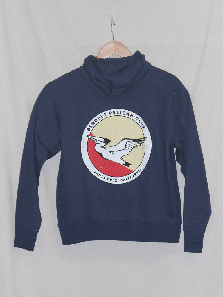 Pelican Club French Terry Pullover Sweatshirt Navy