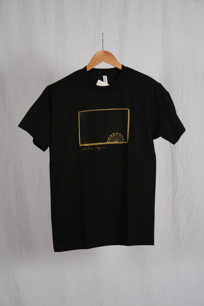 Peter Saporito Ferris Wheel Tee Black