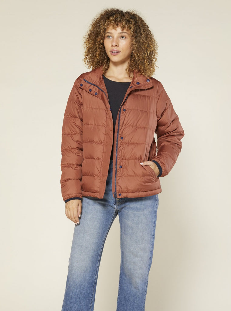 Outerknown Puffer Jacket Nutmeg