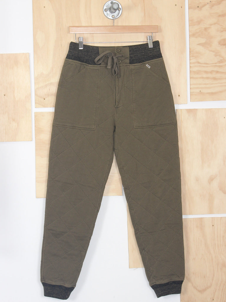 Banks Journal Kingdom Tracksuit Fleece Pants Utility Green