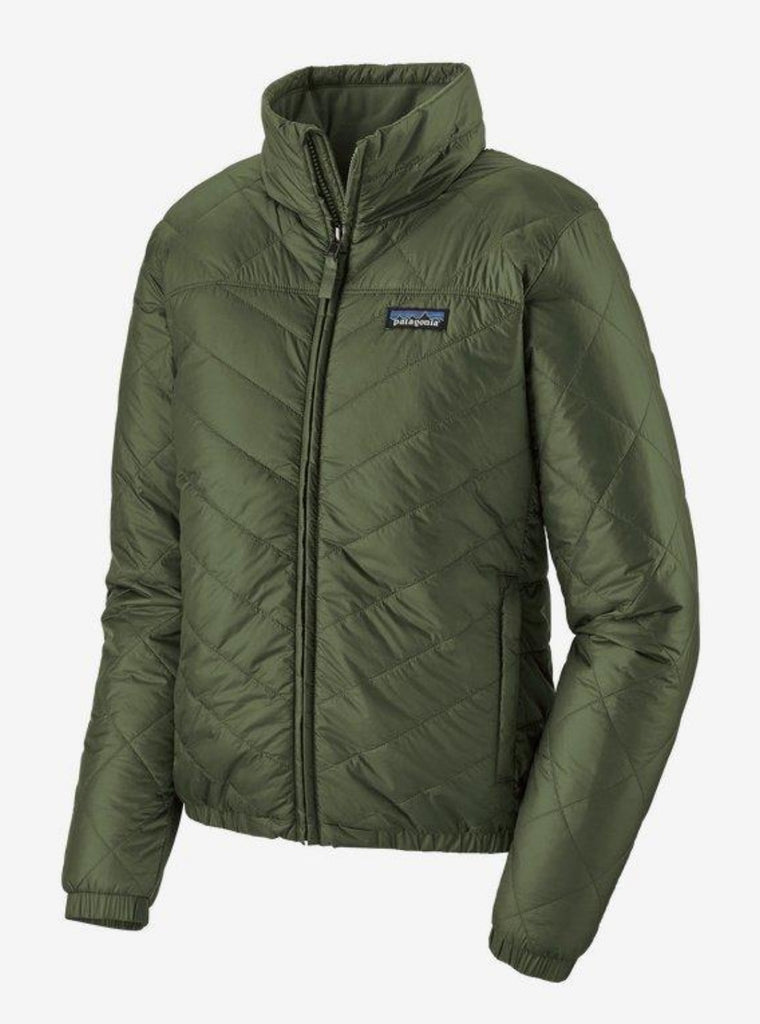 Patagonia Women's Lightweight Radalie Bomber Jacket Kale Green