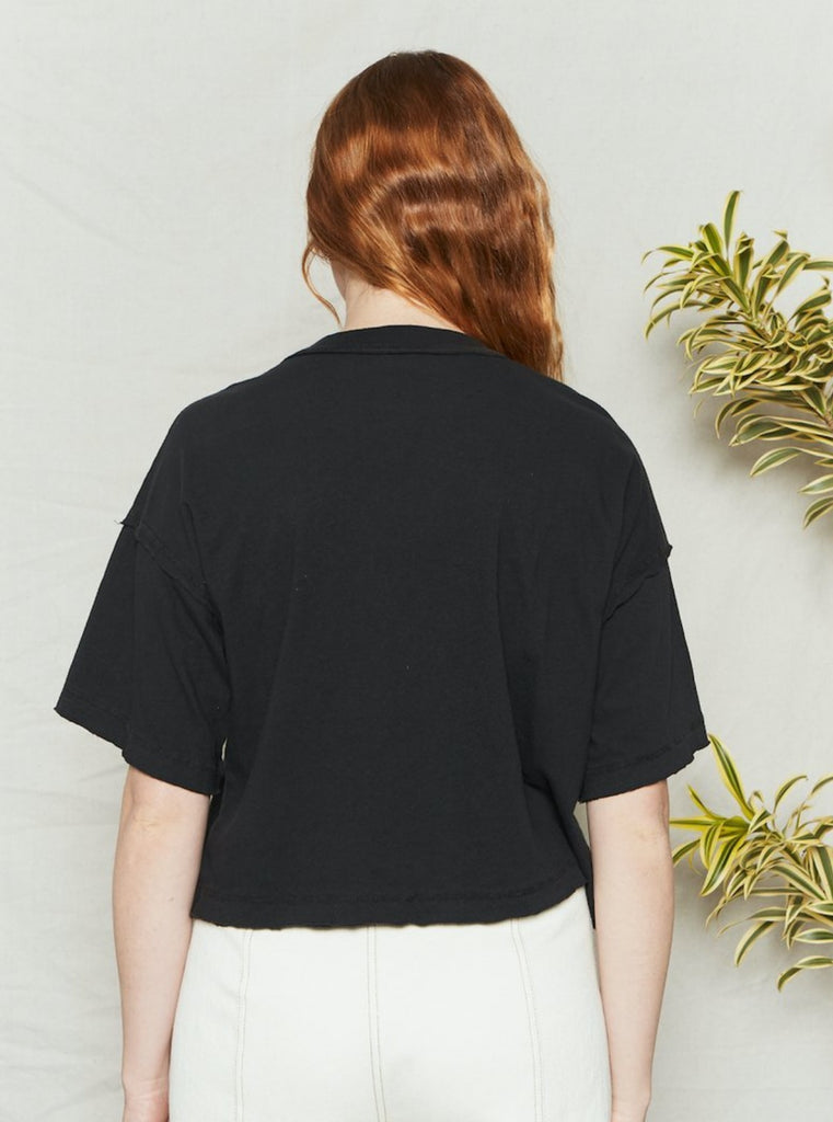 Back Beat Co Recycled Cotton BFF Tee Vintage Black