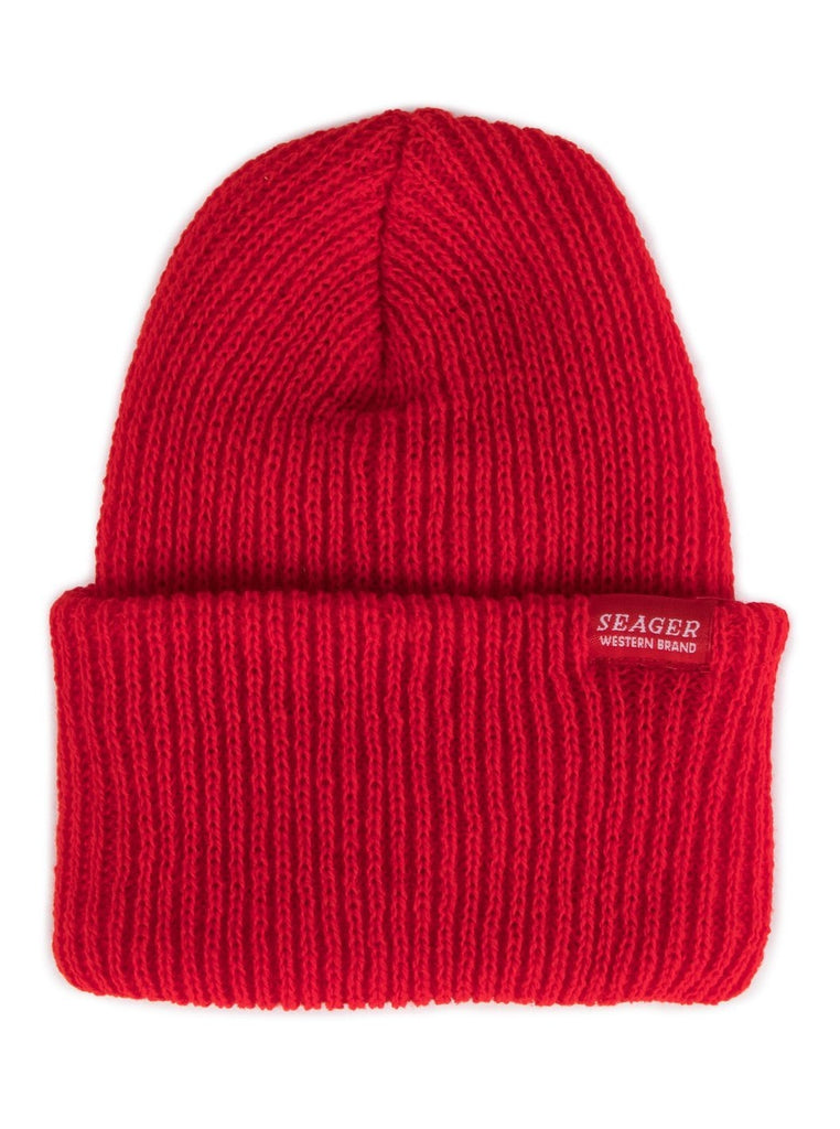 Seager Range Beanie Red