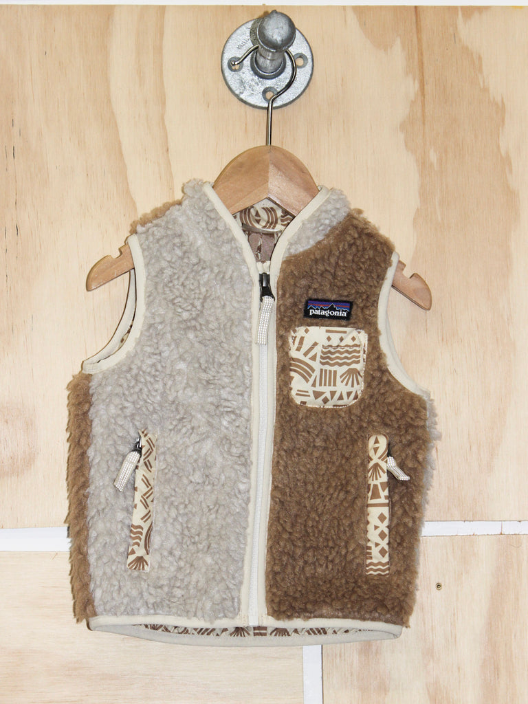 Patagonia Baby Retro X- Vest in Natural
