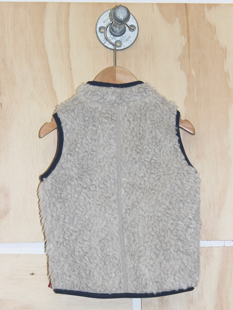 Patagonia Baby Retro X- Vest in Natural/Navy