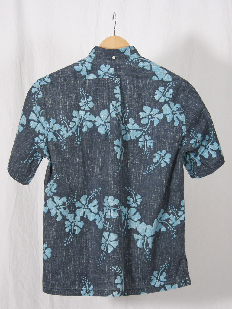 Reyn Spooner 50th State Button Up Shirt Navy