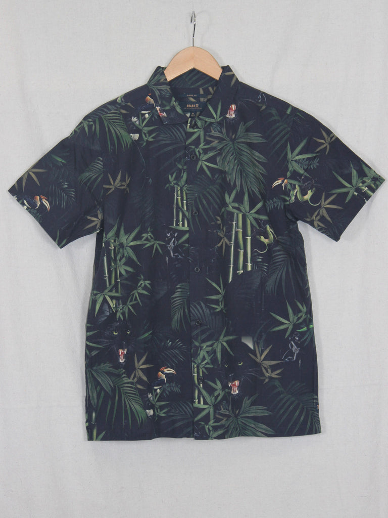 Roark Jungle Attack Shirt Black