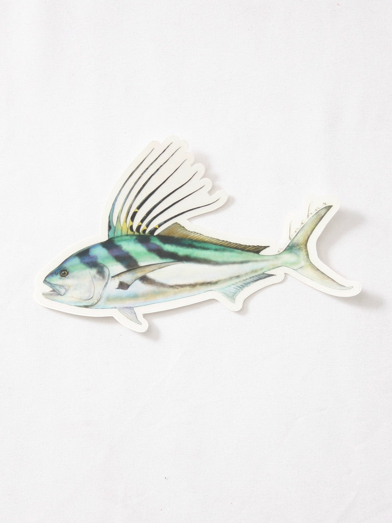 Abachar Roosterfish Sticker