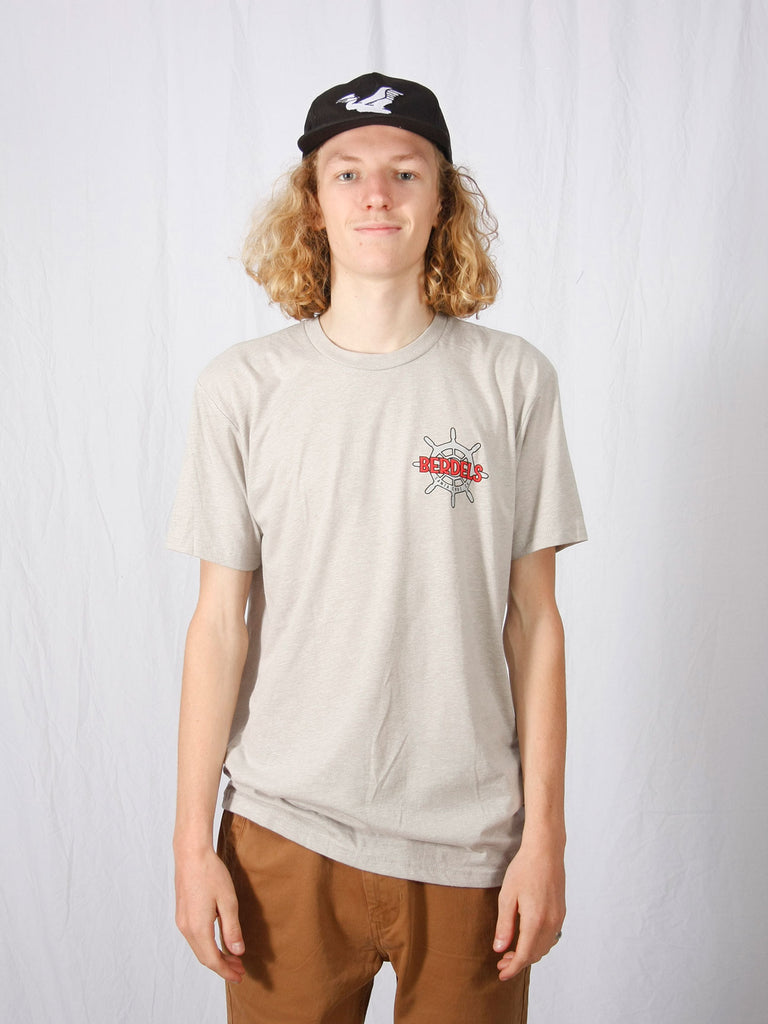 Sailor Berd Tee Shirt in Silk Color