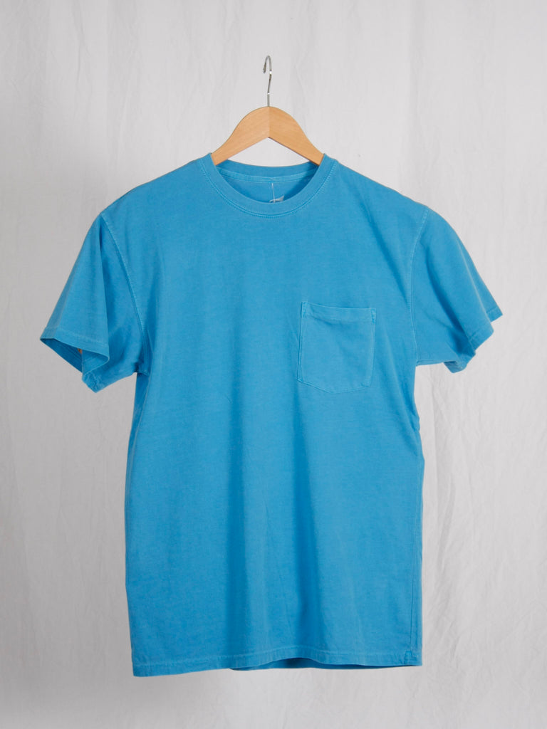 Berdels Men's Sea Breeze Short Sleeve Pocket Tee Ocean
