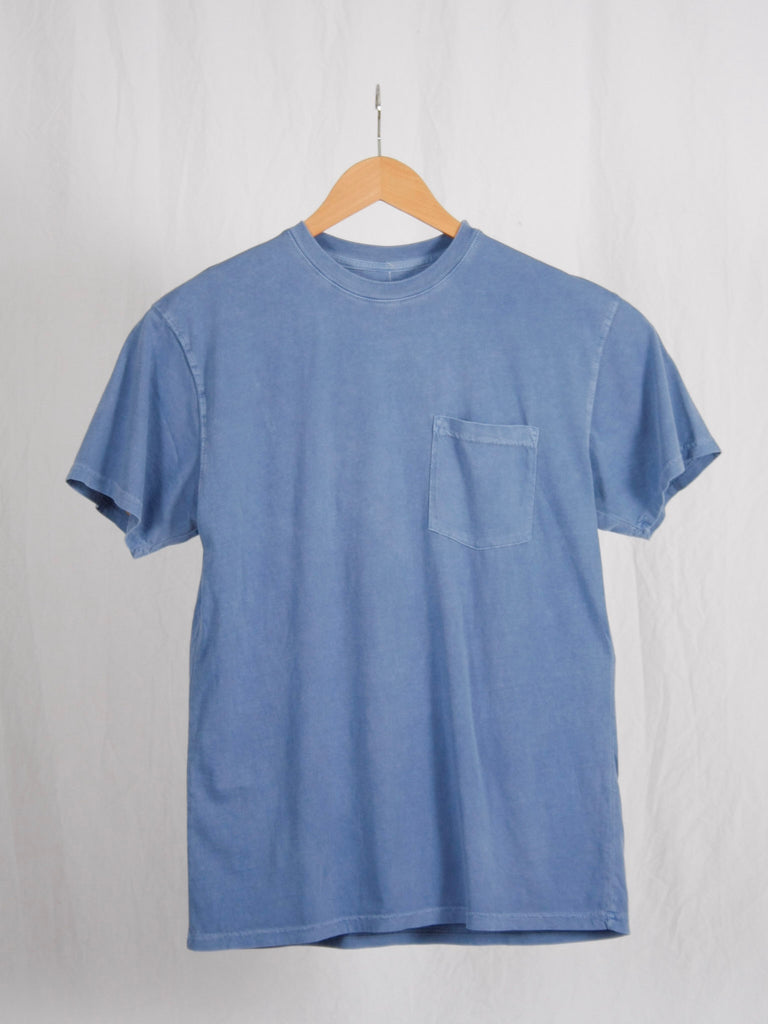 Berdels Men's Sea Breeze Short Sleeve Pocket Tee Peri Blue
