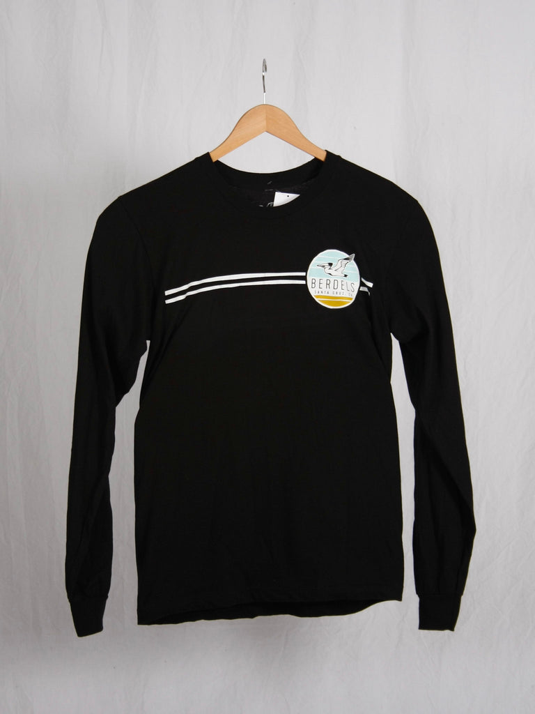 Sky To Sand Long Sleeve Tee Black