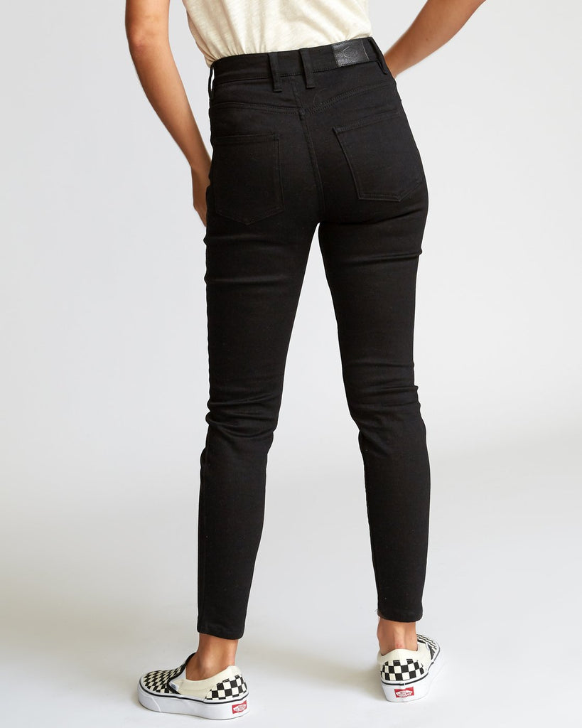 RVCA women's high rise jeans